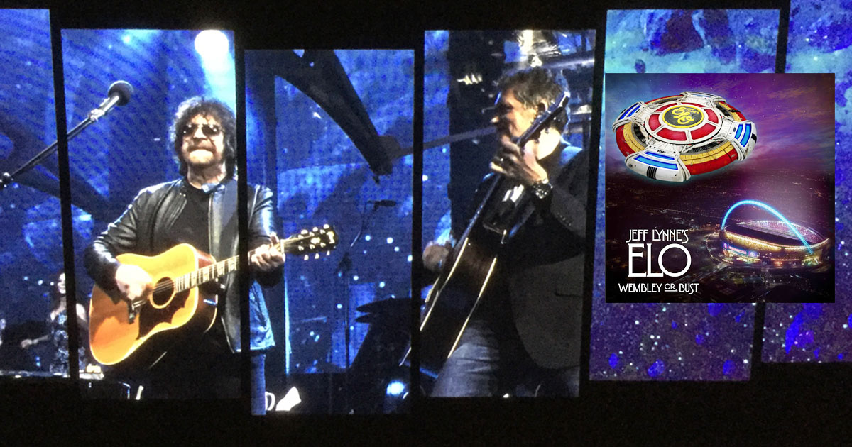 Jeff Lynne S Elo Wembley Or Bust Reviewed Audiophile Review