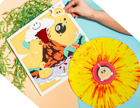 Vinyl Moon Record Club Curates Multi-artist Mixtape Listening Experiences